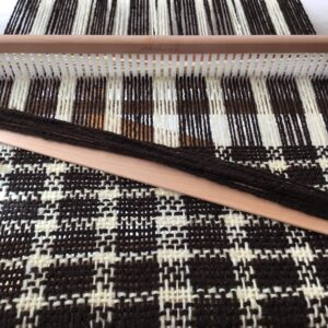 Weaving (hand spun wool)